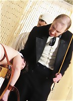 Lupus Spanking - The butcher's daughter caned