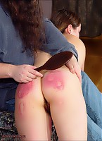Paintoy Llela bruised, welted and screaming for your pleasure.