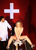 Lazy nurse in whipping fire
